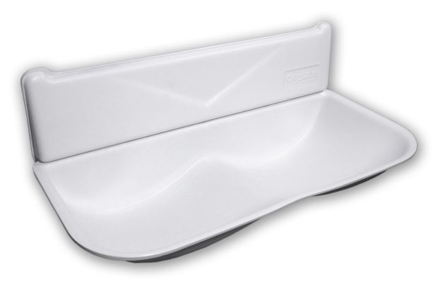 driplate driptray for dyson airblade hand dryer - white